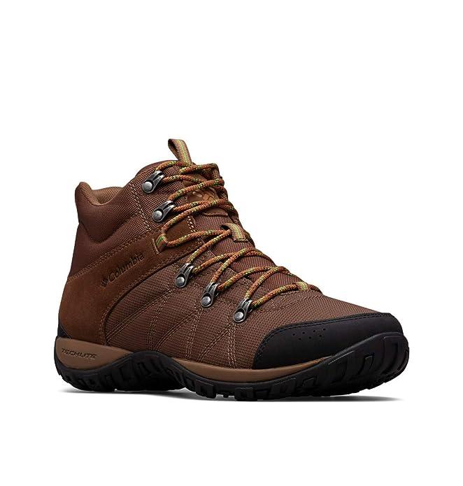 Columbia Men's Peakfreak Venture Boot , Dark Brown, Clean Green, 11 Regular US