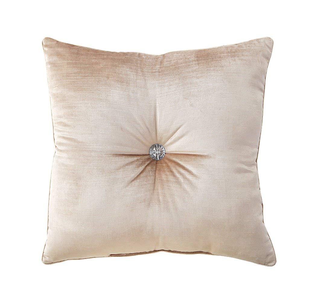 WCH ファッション枕人間の圧力を和らげるための人間工学に基づいたデザインCdiamondクッションヨーロッパソリッドソファークッション B07RVBJY5S