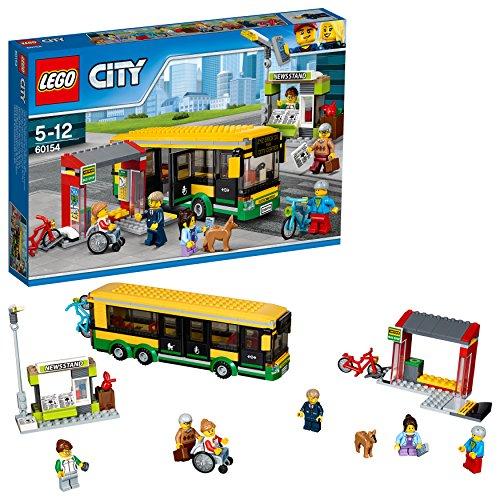 Lego City - La gare routière - 60154 - Jeu de Construction