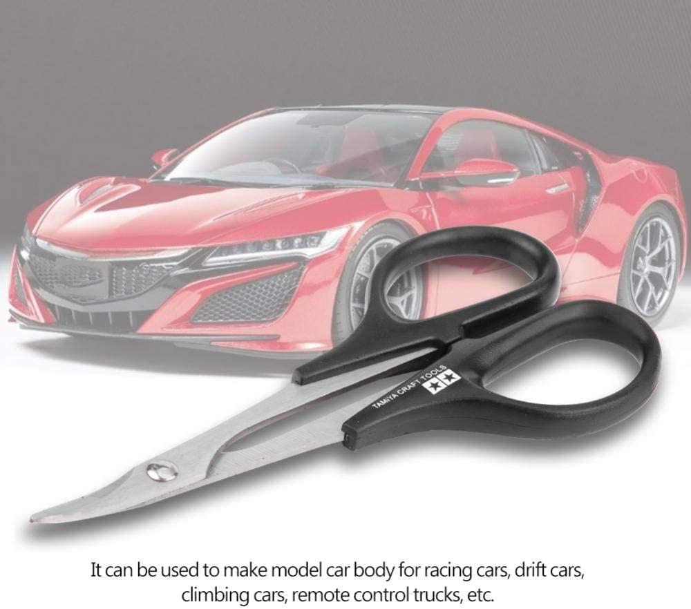 RC Car Body Curved Scissor Model Craft Body Cutting Tool for Racing Drift Truck Vehicle Tbest RC Curved Scissor