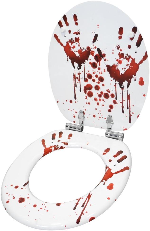 Sedile WC con chiusura ammortizzata Grande scelta di belli sedili WC da legno robusto e di alta qualit/à Parete violetto
