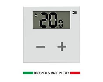 Termostato inteligente adicional para juego Rialto: programable desde la app para la gestión de la