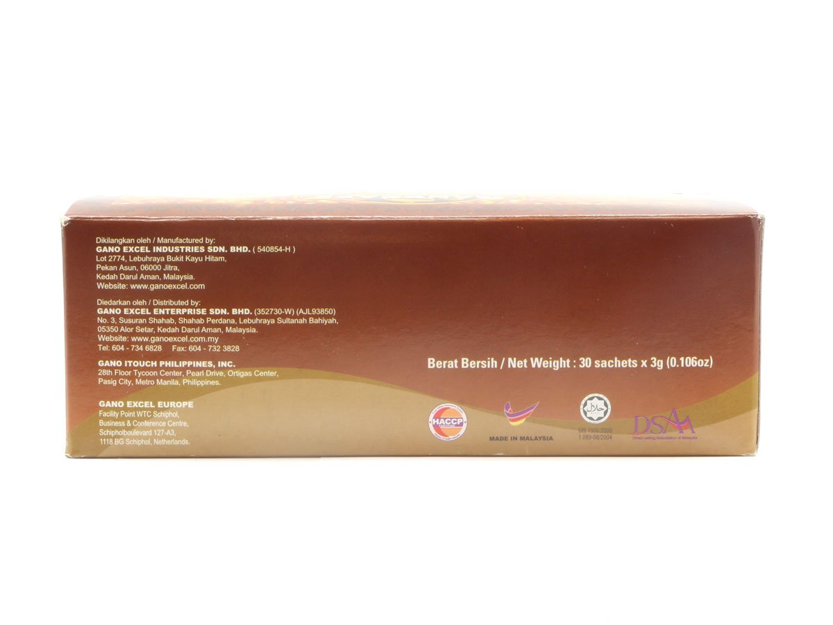 20 Boxes of Gano Café Classic Coffee 30 sachets/box, Instant Black Coffee Enriched with Ganoderma Lucidum Extract by Gano Café (Image #5)