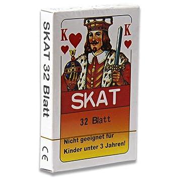Spielzeug 12 x Skatkarten Skatkarte Spielkarte 32 Blatt Skat Karten Französische Blatt