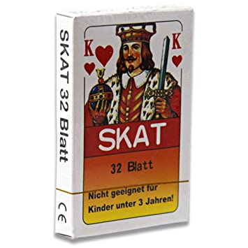 36 x Skatkarten Skatkarte Spielkarte 32 Blatt Skat Karten Französische Blatt Großhandel & Sonderposten