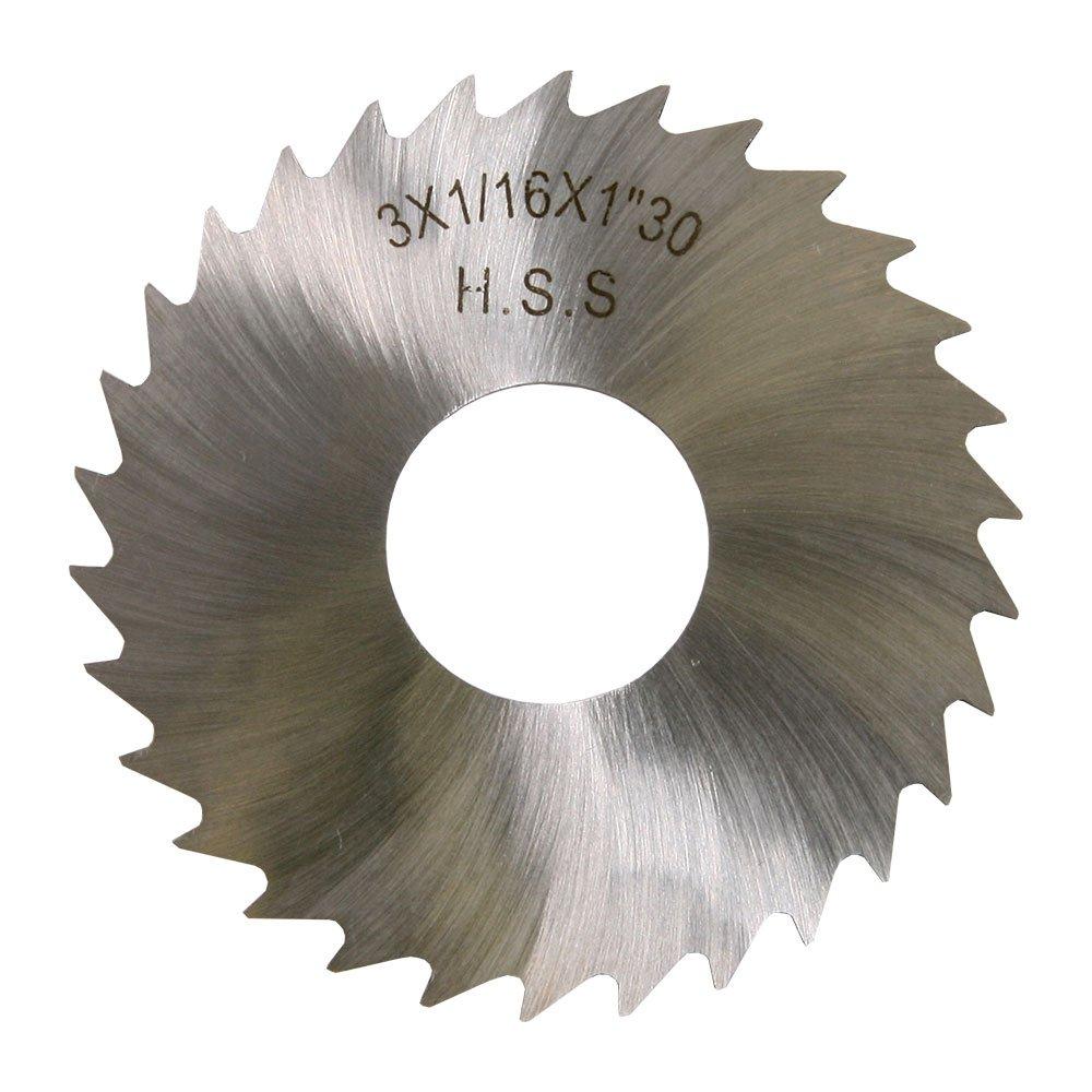 """4 x 1//16 x 1/"""" HSS Plain Metal Slitting Saw"""