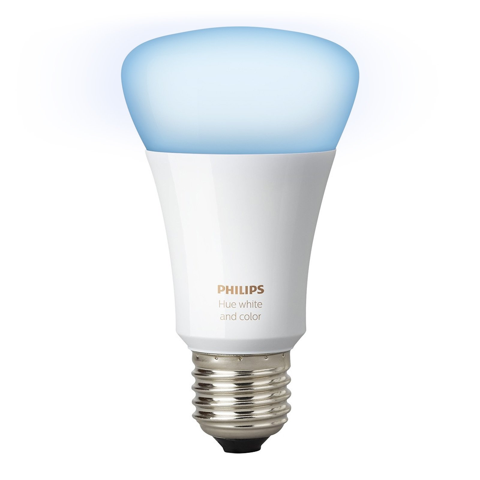Philips Hue White and Color Ambiance 3rd Generation A19 10W Equivalent Dimmable LED Smart Bulb (Renewed) by Philips (Image #3)