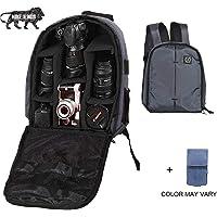 Brain Freezer J Lightweight Camera Backpack Bag for DSLR/SLR Camera Lens (Dark Grey)