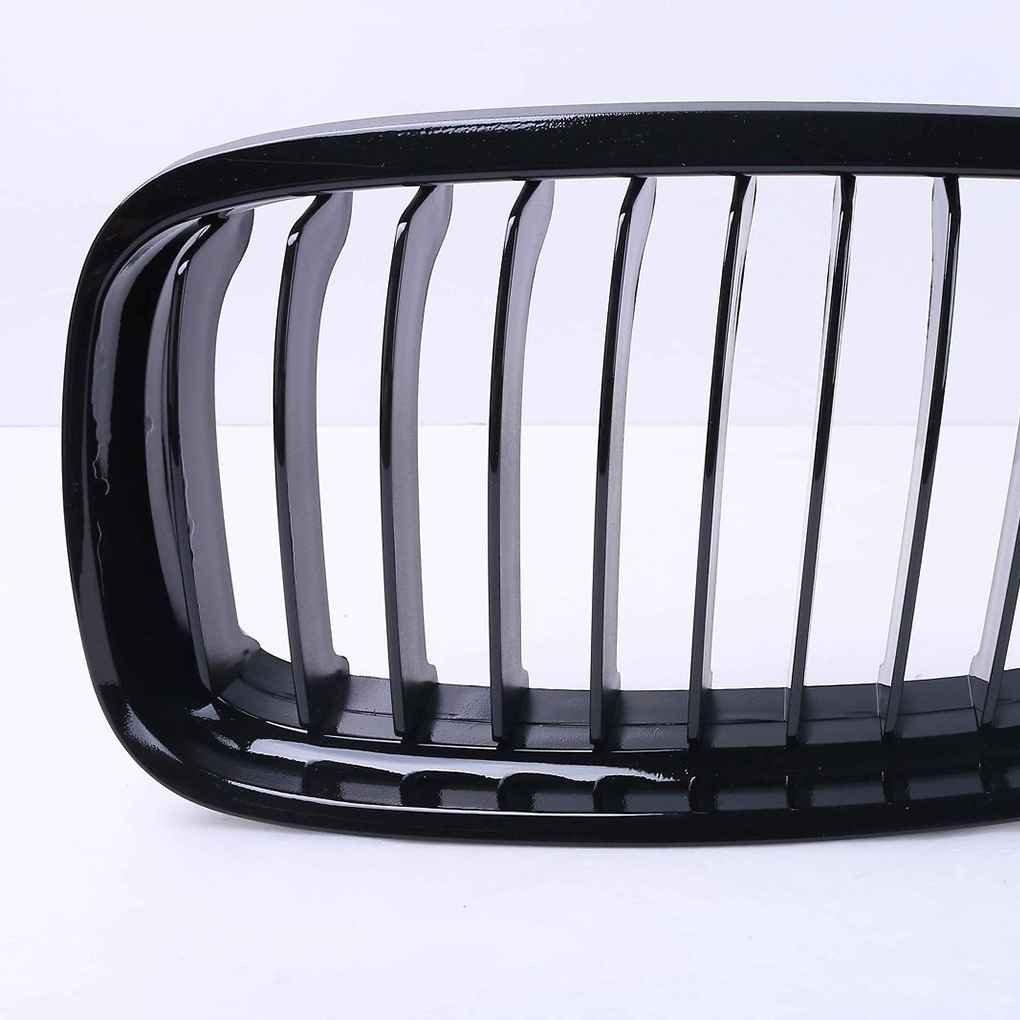 Ben-gi Rene Anteriore dellautomobile Griglie in plastica ABS Anteriore Griglie Nero Lucido per la BMW Serie 3 E90 E91 2009-2011