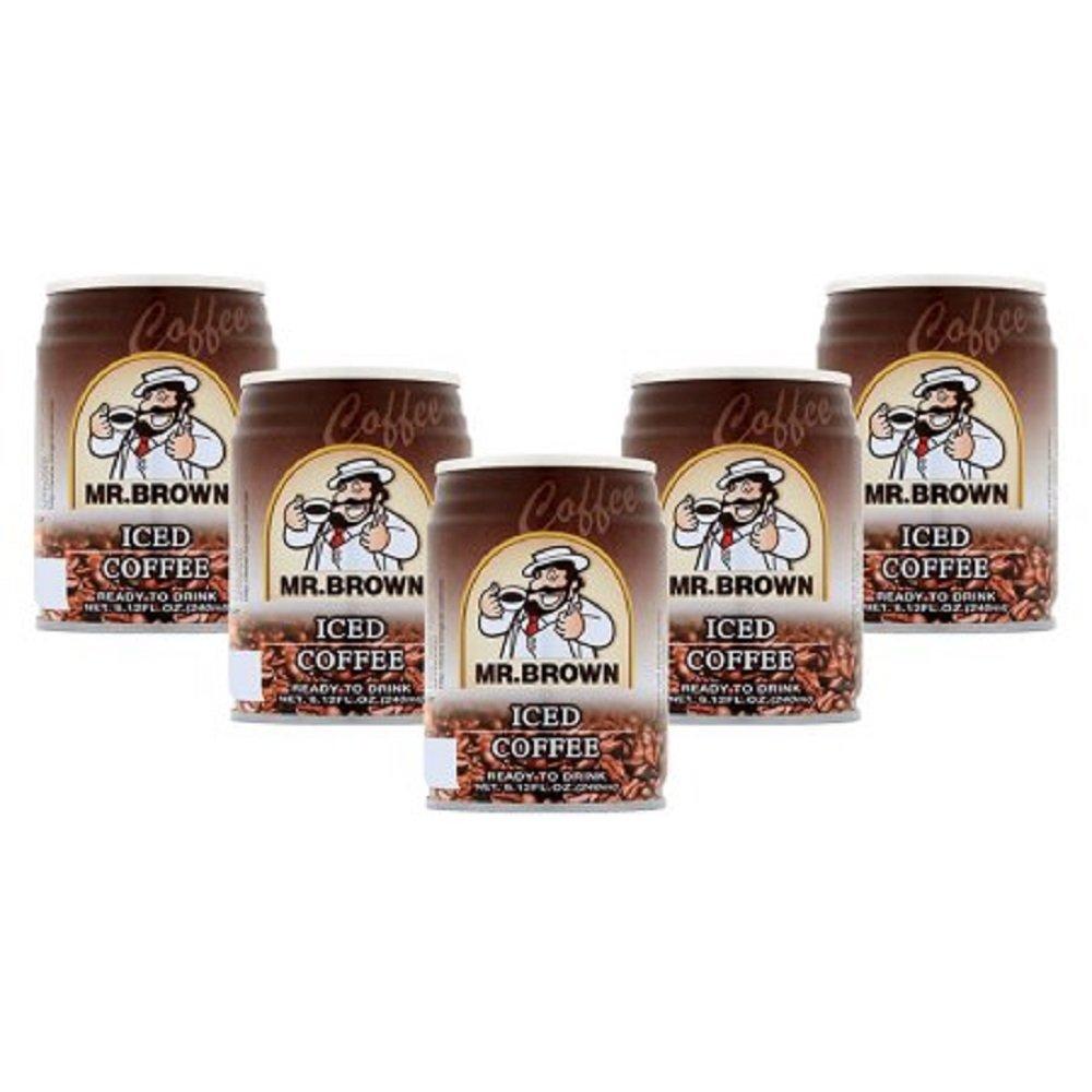 Mr. Brown Iced Coffee, 8.12 Fl Oz (Pack of 5)