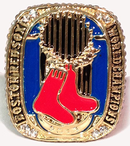 Boston Red Sox 2013 World Series Ring Replica - David Ortiz - Size 12 Mens Shipped from - Red Series Boston Sox World Rings