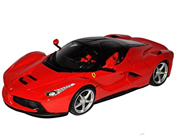 Ferrari LaFerrari 2013 rot Modellauto 1:18 Burago