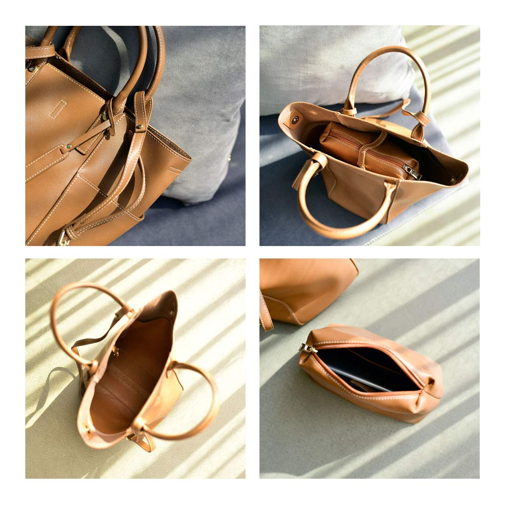 ZHAO YELONG Top Design Fashion Woman Soft High Capacity Big Bag Bucket Bag Handbag Shoulder Bags Crossbody Bag Wallet