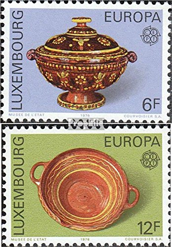 Collection Porcelain Europa - Luxembourg 928-929 (Complete.Issue.) 1976 Europe (Stamps for Collectors) Glass/Ceramics/Porcelain