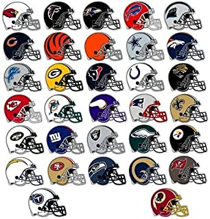 Amazon Com Nfl Decal Stickers Football Team Logo Licensed Complete
