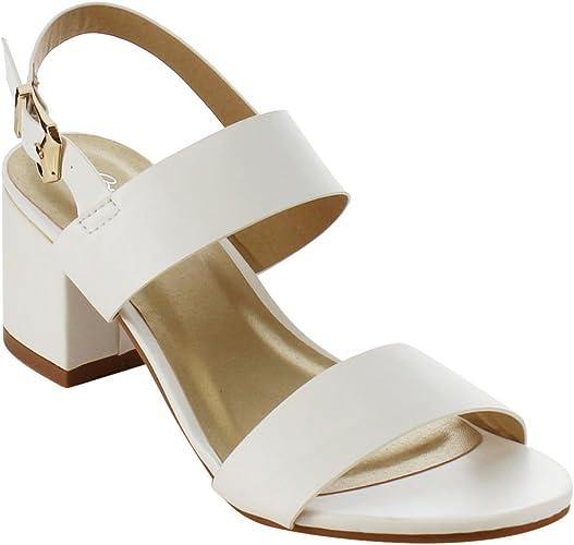 white block heel shoes uk