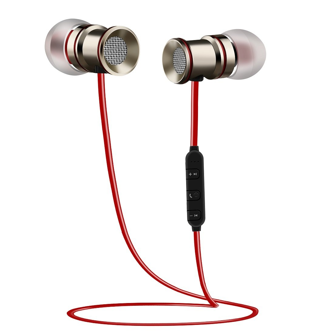 Bluetooth Headphones Wireless Bluetooth Earphone,Bluetooth Earphone Sports 4.1 Lightweight HD Noise Cancelling In Ear Headset with Microphone for iPhone Samsung and Bluetooth Devices