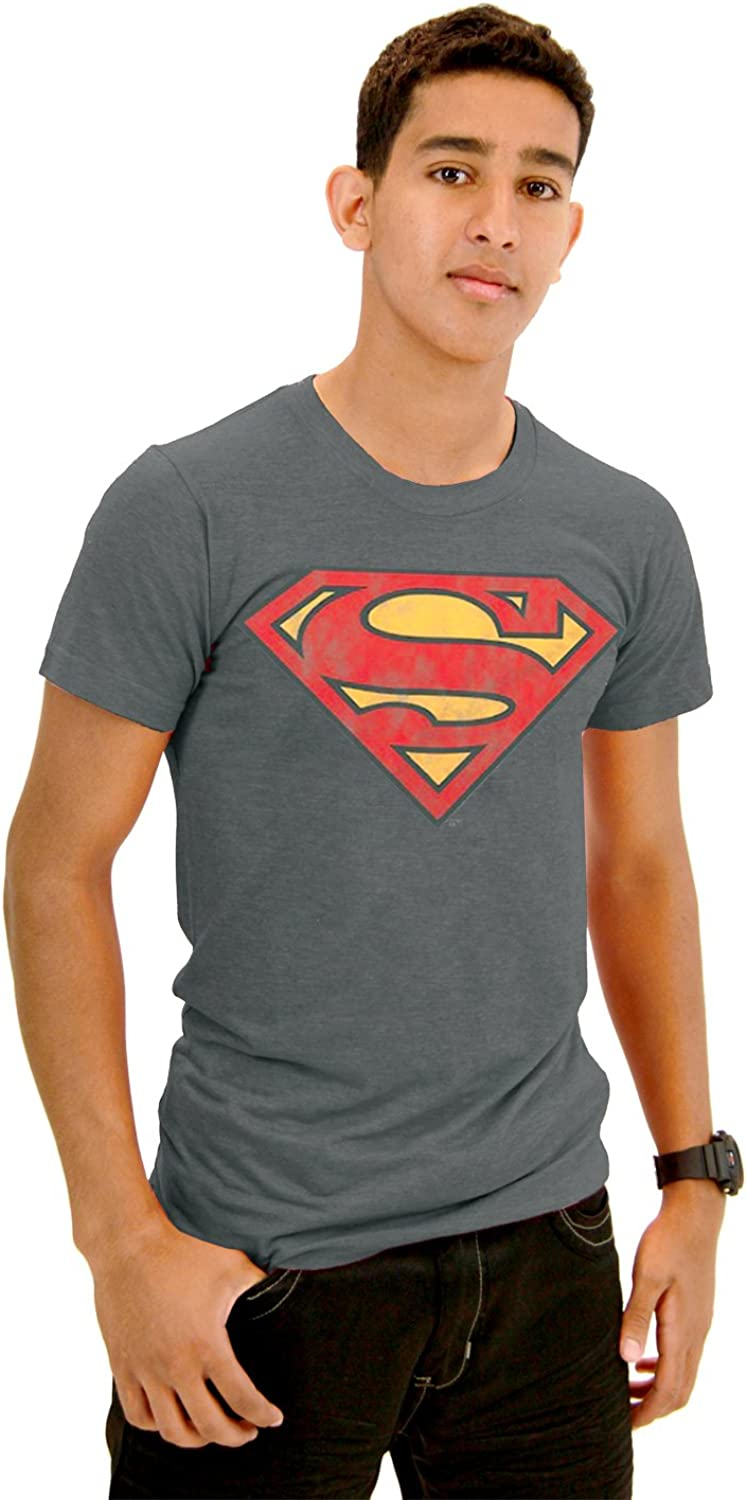 Junk Food Superman Original Logo Adult T-Shirt