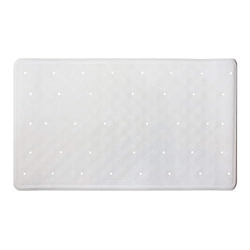 Pinzz Vinyl Non Slip Bathtub Mat Anti Bacterial Shower Mat