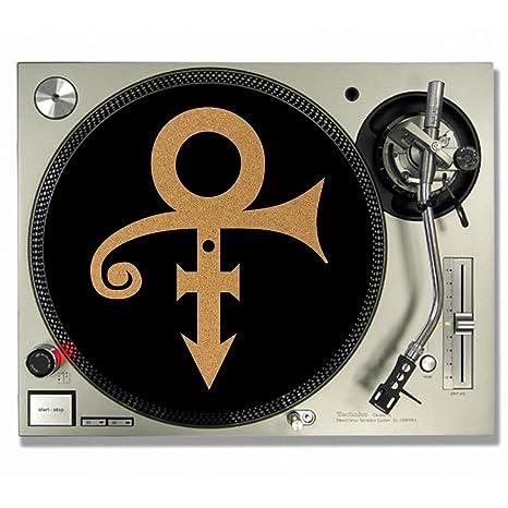Prince Cork DJ - Alfombrillas de vinilo para tocadiscos ...