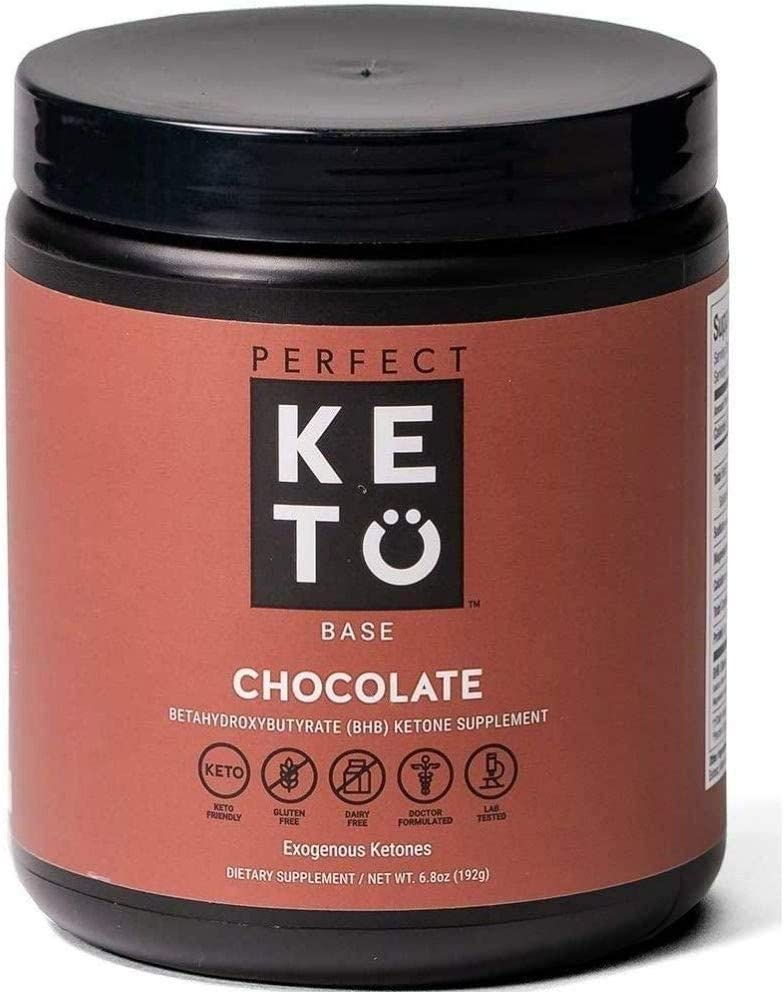 Exogenous Ketones Powder, BHB Beta-Hydroxybutyrate Salts Supplement, Best Fuel for Energy Boost, Mental Performance, Mix in Shakes, Milk, Smoothie Drinks for Ketosis – New Chocolate, 9.0 oz (255 grs): Health & Personal Care