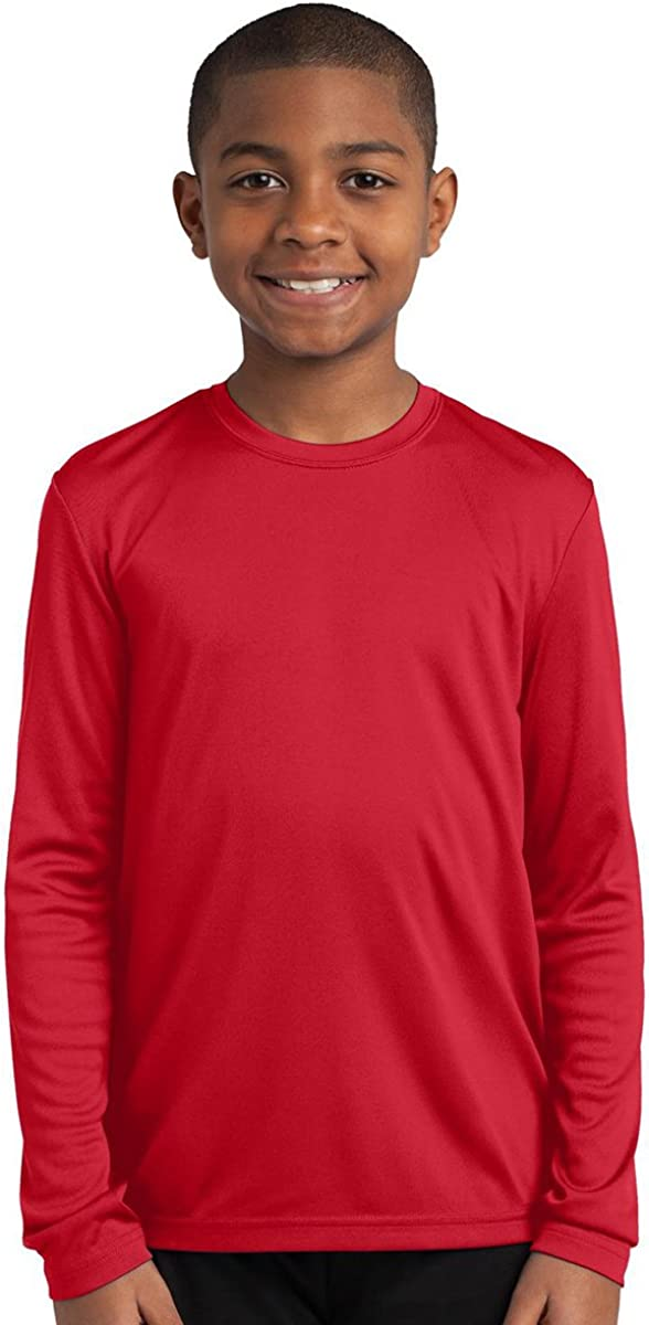 Sport Tek Youth Lightweight Comfortable Competitor T-Shirt/_True Red