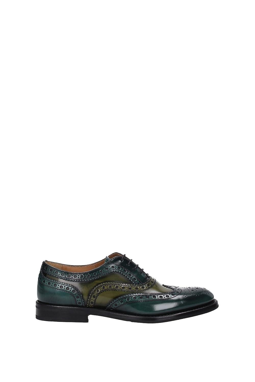 Zapatos de cordones Church's Mujer - (CE0001WOODMILITARY) EU 35 EU|Verde