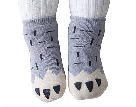 Baby Herbst Winter warme Rutschfeste Socken