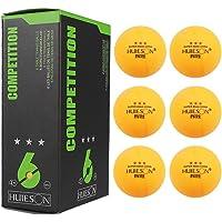 Pelotas de Tenis de Mesa 3Star 6PCS para competiciones de Entrenamiento Profesional Pelota de Ping Pong (Caja de Color) 40 mm / 1.57 Pulgadas, 2.9 g Cada una