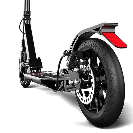Patinete- Scooter Plegable para Adultos Scooter: 2 Ruedas Grandes De PU para Niños De