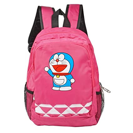 a3dd50d578 Doremon Cartoon Kids Children Girls Boys School Bag Backpack For Travel  Tuition Teenager  Amazon.in  Bags