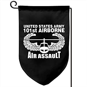 Garden Flag 12.5-18in Size Banner for House Decoration- US Army 101st Airborne Air Assault