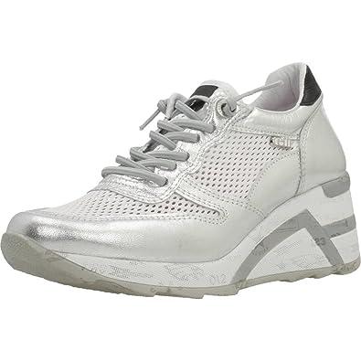 Cetti Calzado Deportivo Para Mujer, Color Plateado, Marca, Modelo Calzado Deportivo Para Mujer C1145 V18 Plateado: Amazon.es: Zapatos y complementos