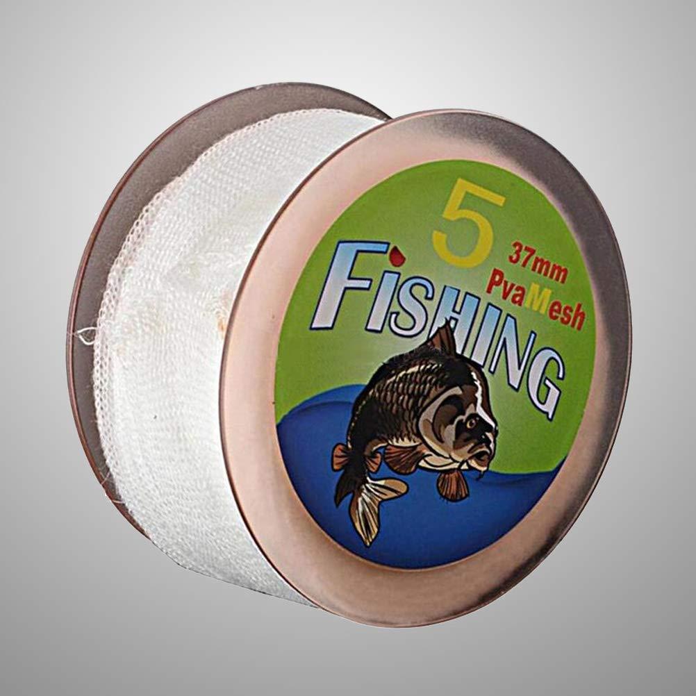 VORCOOL 5 M Karpfenfischen PVA Mesh Refill Strumpf Rig K/öder Taschen Spool Tackle Wasser Aufl/ösen 37mm