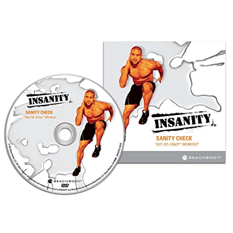 Amazon.com : INSANITY Sanity Check DVD Workout: An Introduction to ...