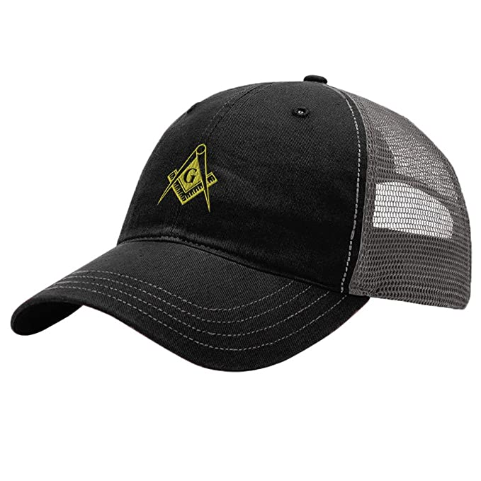 b4e4bbf992d Image Unavailable. Image not available for. Color  Speedy Pros Mason Gold  Embroidery Design Richardson Cotton Front and Mesh Back Cap Black Charcoal