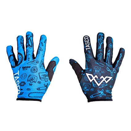 TASCO MTB Double Digits Gloves (Blue Bike Bits)