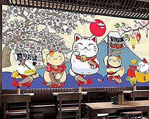 Mural Wallpaper North Wall Wall Custom Wallpaper Lucky Cat