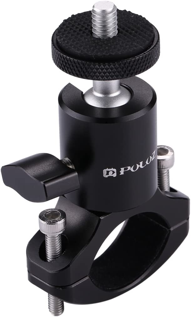 Bike Aluminum Handlebar Tripod Ball Head Adapter Mount for GoPro HERO8 Black//Max // HERO7 Color : Color1 DJI OSMO Action Xiaoyi and Other Action Cameras Reliable