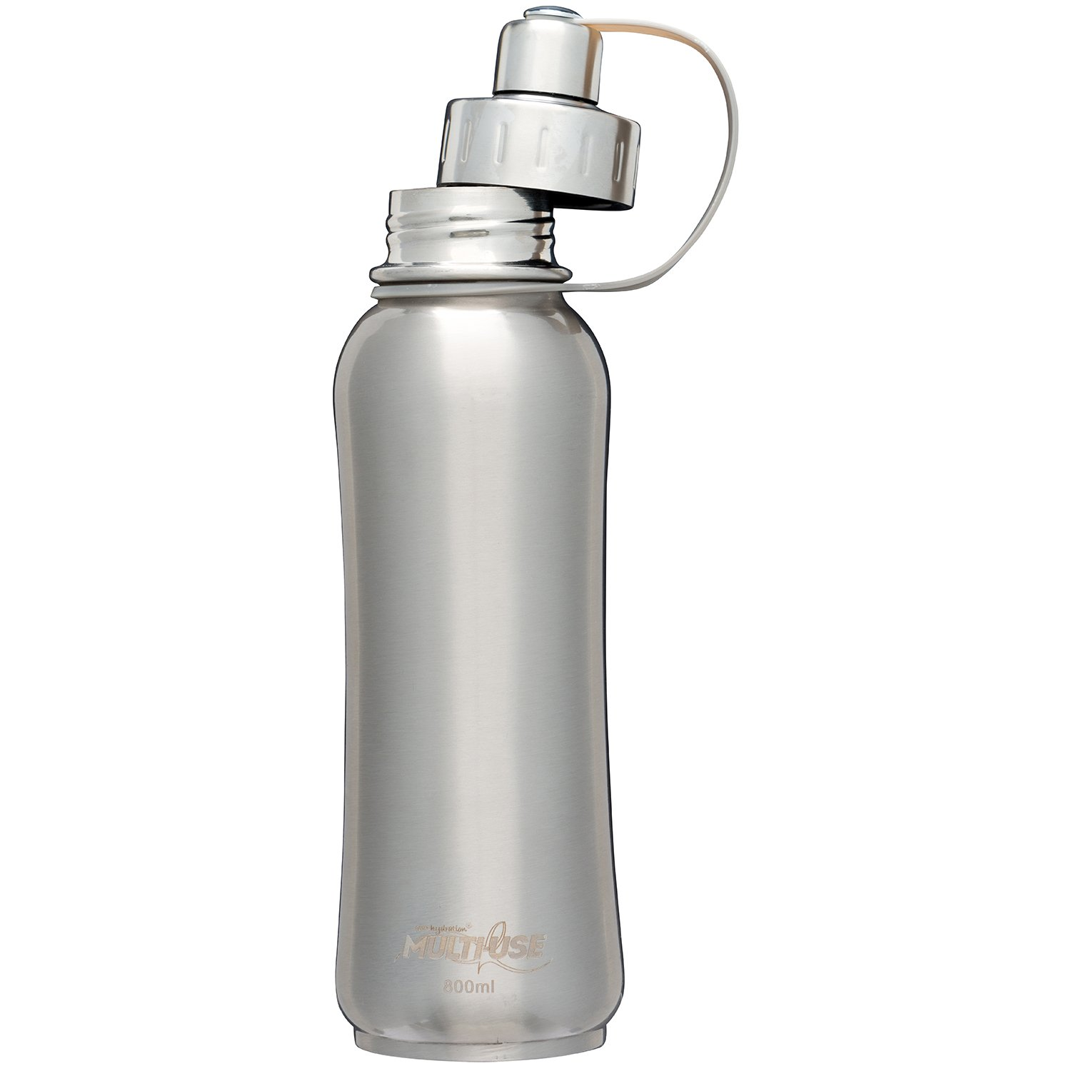 PureHydration Multi-Use Stainless Steel Tri-Ply Insulated Bottle with Infuser Basket (Whispering Wood, 800ml) by PureHydration Multi-Use (Image #3)