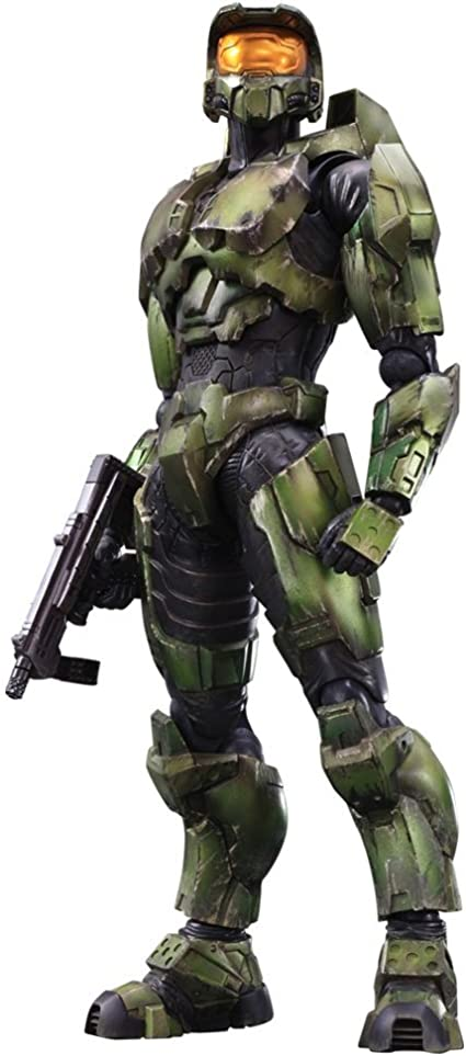 Square Enix Play Arts Kai Master Chief Halo 2 Anniversary Edition Action Figure