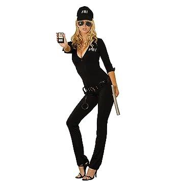Damen Kostum Fbi Kostum Agentin Polizistin Polizei Verkleidung Flirt