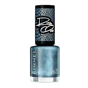 c5949016db6 Rimmel Rita Ora 60 Seconds Nail Polish Pedal to The Metal: Amazon.co.uk:  Beauty