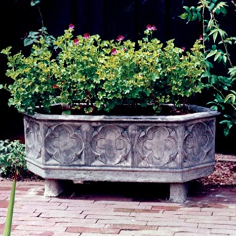 Large Garden Troughs   Grand Stone Plant Trough: Amazon.co.uk: Garden U0026  Outdoors