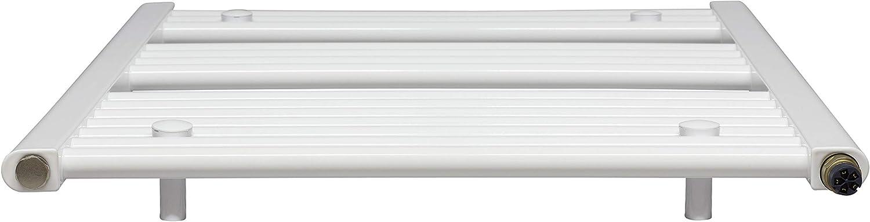 Handtuchhalter Elektrobadheizk/örper KTX 3, 1175h x 750b in verschiedenen Gr/ö/ßen erh/ältlich Heizstab und verschieden w/ählbaren Heizpatronen inkl gerade hochwertig Handtuchtrockner weiss