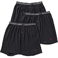 Polo Ralph Lauren Classic Fit w/Wicking 3-Pack Knit Boxers