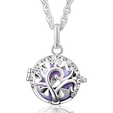 Eudora harmony ball pendant lockets chain silver tree of life love eudora harmony ball pendant lockets chain silver tree of life love musical chime bell mother day aloadofball Images