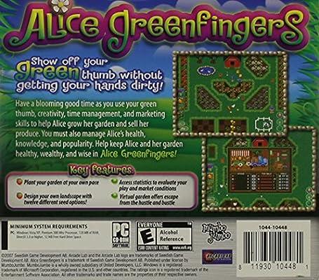 Amazon Com Alice Greenfingers Pc Video Games