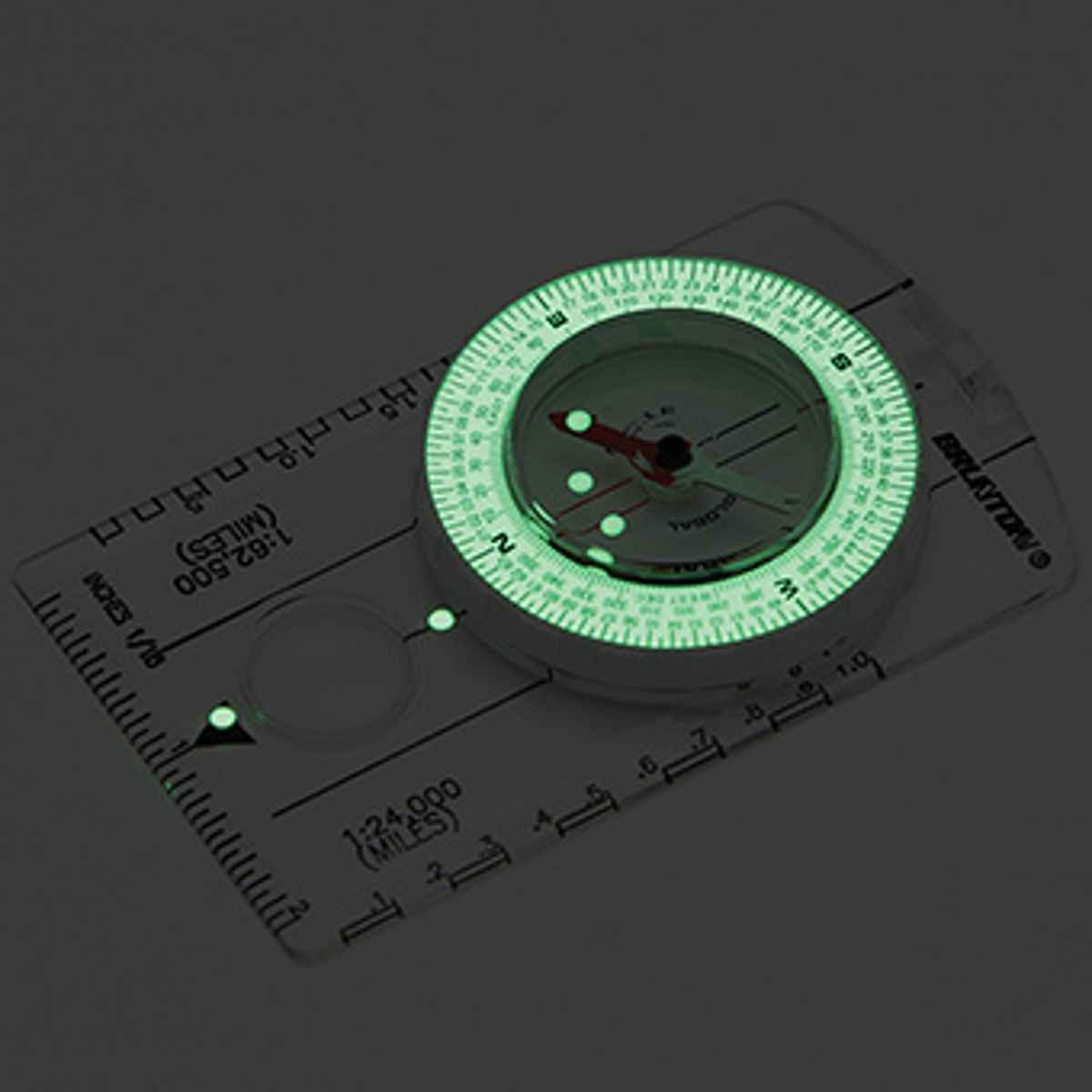 Brunton Classic f-8010-dmil-glow Kompass Global Nadel f-8010-dmil-glow