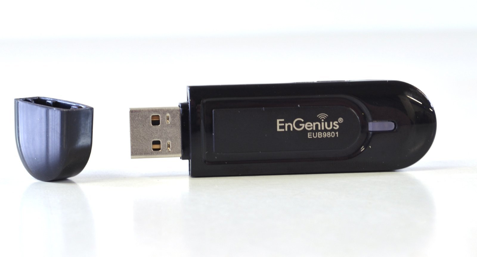 Engenius Eub9801 Dual Band 5Ghz 2.4Ghz Wireless Usb Wi-Fi Adapter Dongle 300Mbps Black